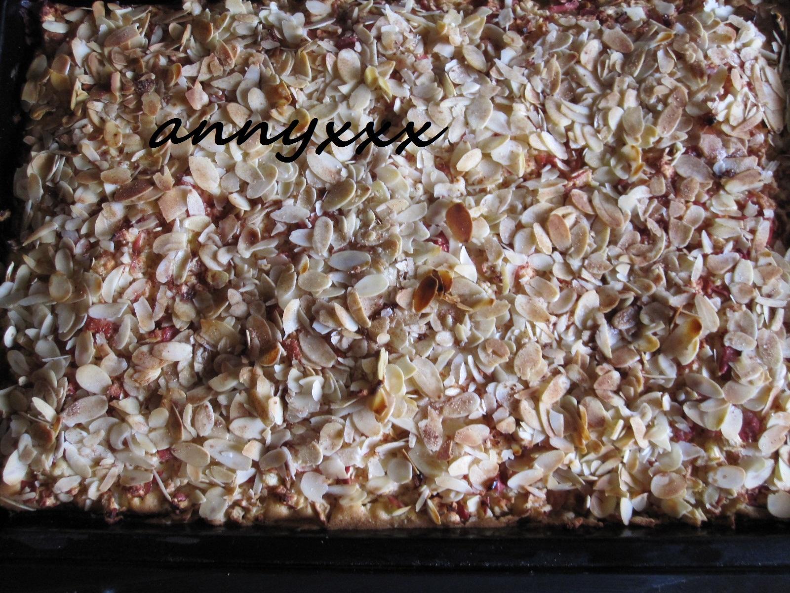 Thermomix Rezept Apfel Mandel Kuchen Vom Blech