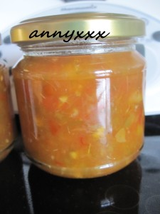 Thermomix Paprika Orangen Apfel Relish  (2)