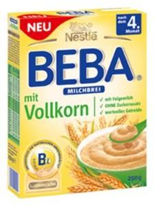 BEBA Milchbrei mit Vollkorn
