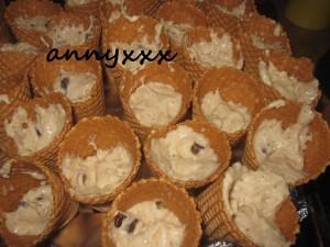 Peppermin Chunk Ice Cream Cone  (4)